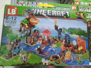 Minecraft lego kocke 722 delova
