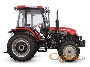 Traktor YTO - 454, akcija