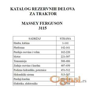 Massey Ferguson 3115 - Katalog delova