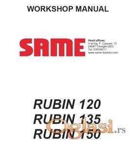 Same Rubin 120-135-150 Radionički priručnik