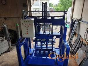 Masina za behaton kocke i betonske blokove hidraulicna