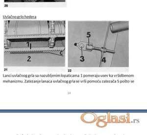 Claas Mercator 50  - 60 uputstvo za štelovanje