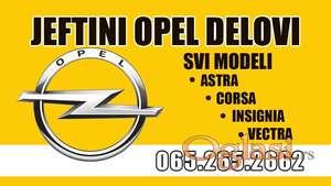 Boca vode Opel Insignia