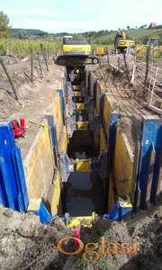SBH i KRINGS Verbau klizna kanalska oplata