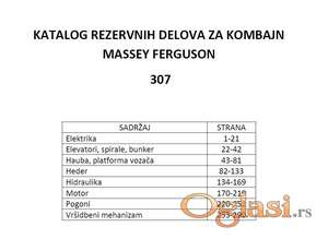 Massey Fergsuon 307 kombajn - Katalog delova