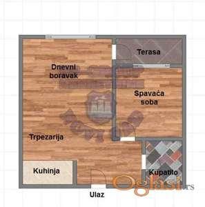 Trosoban stan u izgradnji na Spensu