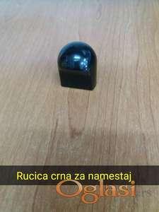 20 Rucica crnih za namestaj