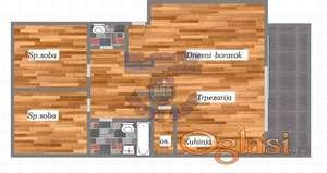 Odlican trosoban u urbanoj vili - cena sa PDV-om
