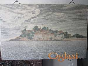 Sveti Stefan mozaik slika na prodaju