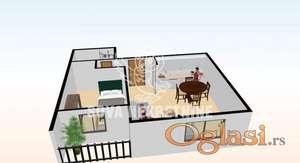 Dvosoban stan u novogradnji u Subotici ID#1119