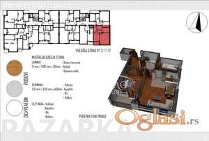 Na prodaju stan u Novom Pazaru-TOP ID#1179