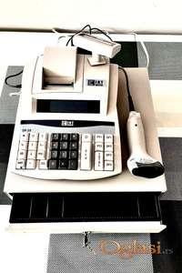 Fiskalna kasa sa čitačem i precizna vaga za prodavnice