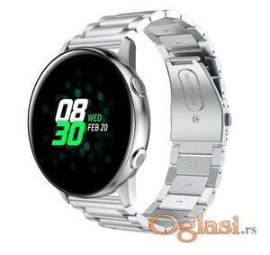 Samsung galaxy watch active 2 narukvica silver