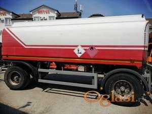 Cisterna Hendricks za goriva i maziva