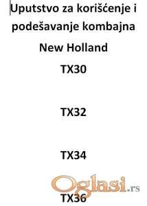 New Holland TX - uputstva za štelovanje
