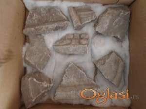Fragmentalni komadi mermernih ikona iz III veka