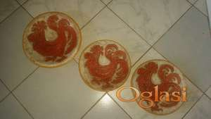 Majolika tanjiri mozaik Oroz