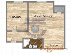 stan u izgradnji, odlican raspored