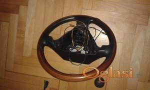 Drveni volan za Alfu