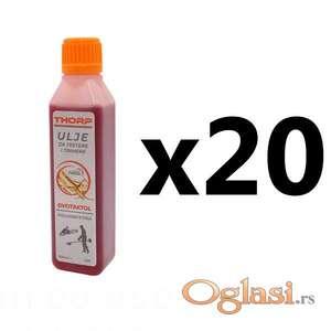 Motorno ulje Thorp polusintetičko 2T ulje 1dl 20 komada