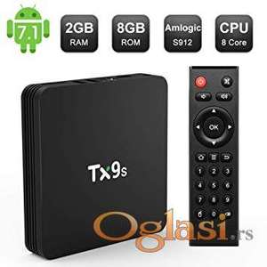 Android TV Box TX9s Najnoviji model