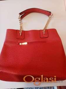 Zenska crvena torba