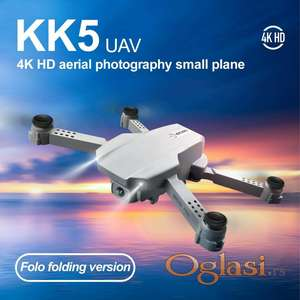 Dron sa dve kamere 4k sa torbom KK5
