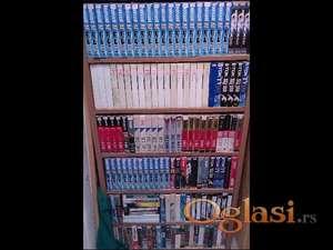 video kasete sa filmovima sve zajedno