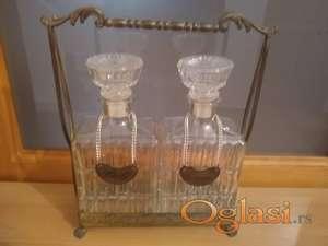 Starinske kristalne flaše