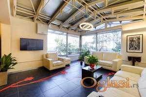Izdavanje,Predivan luksuzno sređen stan, na najlepšem mestu na Novom Beogradu YUBC.