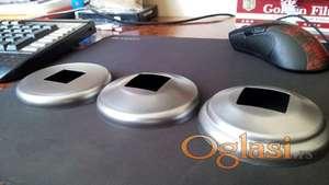 Rozetne i poklopci za kutiju 30 X 30 mm metalne , inox i aluminijumske
