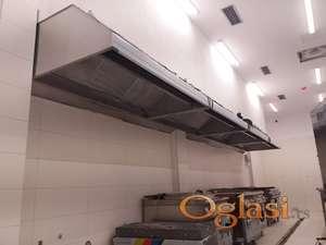 Haube, filteri, turbine, kuhinjski elementi- izrada-ugradnja