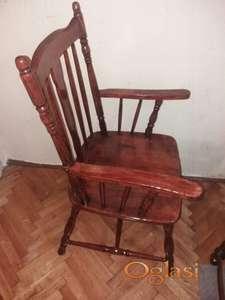 Stolice drvene STARE, A NOVE