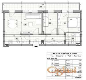 KLISA, 66 m2, 81800 EUR