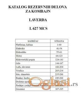 Laverda L 627 MCS - Katalog delova