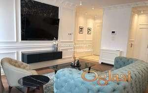 Izdavanje-Lux trosoban stan sa garažom, prvo izdavanje, cena sa svim troškovima