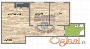 Odličan dvoiposoban stan u izgradnji ! * 021/6322-111 *