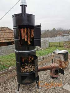Sušenje mesa u buretu