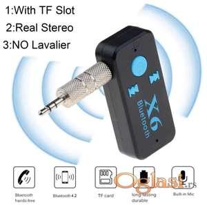 X6 Bluetooth Resiver Auto Car Kit HandFree prijemnik