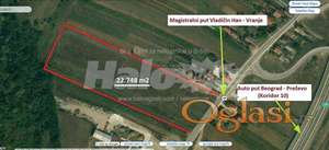 Gradjevinsko zemljište - idealno 22.748 m2