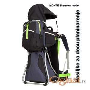 Nosiljka za decu za planinarenje hiking MONTIS HIKE PREMIUM