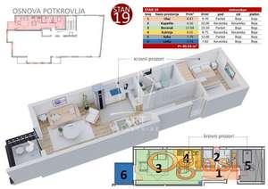 Bogoslovija - Bata Lakina - 40,54m2 DIREKTNA PRODAJA ID#2641