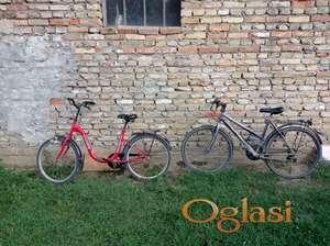 Prodajem dva bicikla