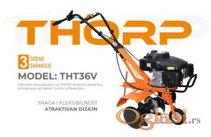 Motokultivator THORP THT36V - 161cc / 5,1HP