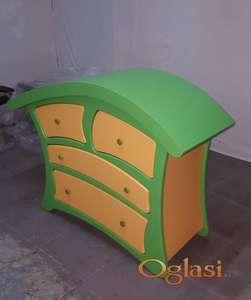 Komoda zelena prelepa