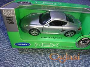 Porsche Cayman S - metalni auto