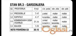 Stan,Beograd,Zemun,Banijska,30 m2,52500 eur+PDV(10%) ID#1226