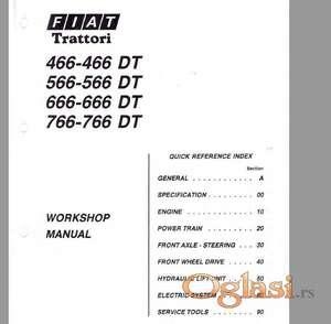 Fiat 466-566-666-766 (DT) Radionički priručnik
