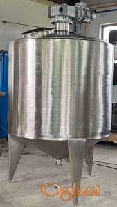 DUPLIKATORI zapremine 2100 litara sa ramskom mešalicom, ATEX zaštita