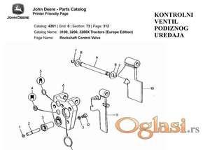 John Deere 3100-3200-3200X katalog rezervnih delova